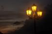 2604 - Contrasto tra cielo e lampioni