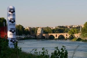 La zona dell' uscita GFCR (Ponte Milvio)