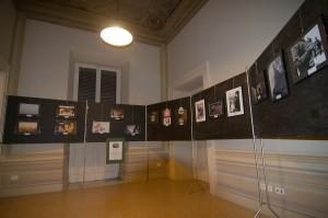 La sala con le foto premiate