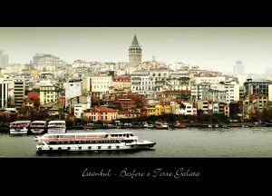 Istanbul_Bosforo e Torre Galata
