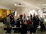 Giuria al lavoro e partecipanti in sala (foto Amarante)