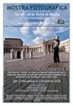 Locandina mostra (foto Cavatorta, grafica Farcomeni)
