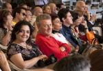 Rosaria e Paolo tra la folla - foto di pino farcomeni