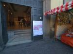 Viterbo Fotografia 2012: l'ingresso della mostra (sala Almodiani)