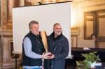 Premiazione circolo primo classificato Intercircoli 2012. (Paolo e Gabriele)