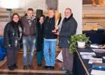 I rappresentanti del GFCR presenti alla premiazione