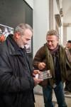 Consegna del calendario GFCR 2013 a Gabriele.