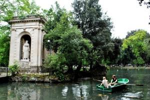 Neoromanticisimo a villa Borghese