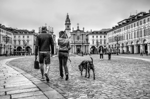 3. City life         (Passeggiata a Tre)