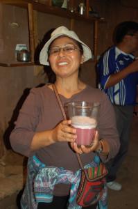 Peru' - Cusco - Chicha, bevanda di mais fermentato.