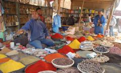 Marocco - Marrakech - vendita di spezie